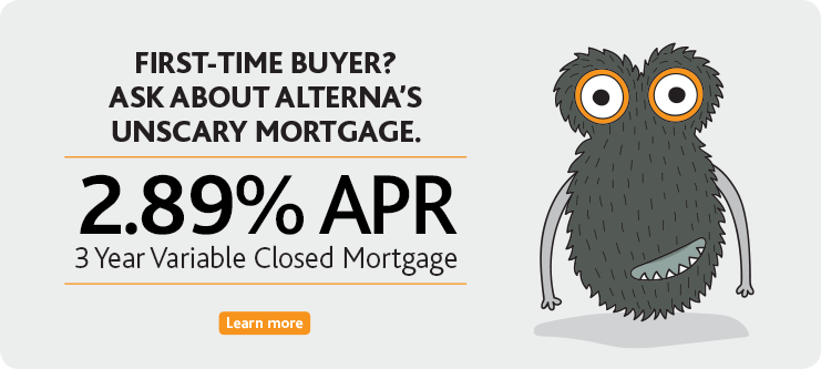 2.89% APR on 3 Year Closed Variable Mortgage