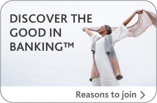 Discover the Good in Banking™, click for reasons to join Alterna