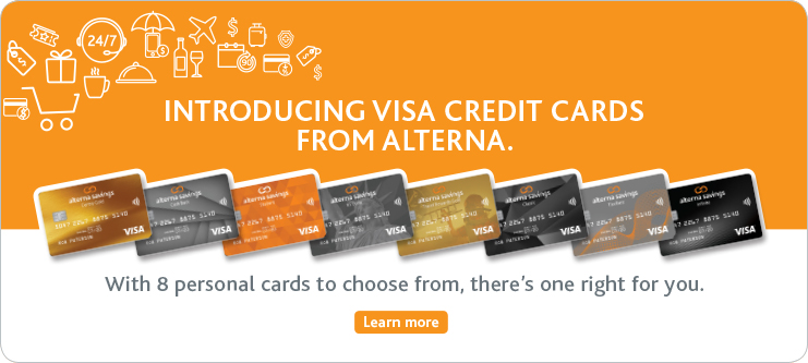 Introducing Alterna Visa Cards
