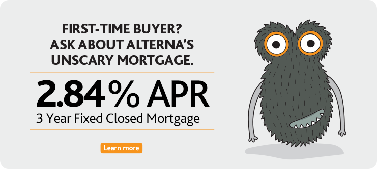 2.84% APR on 3 Year Closed Fixed Mortgage