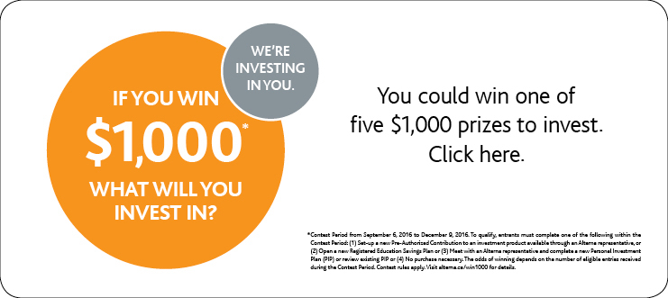 If You Win $1,000 What Will You Invest In?