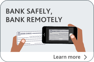 Bank safely, Bank remotely, Lean more about Alterna Debit Card