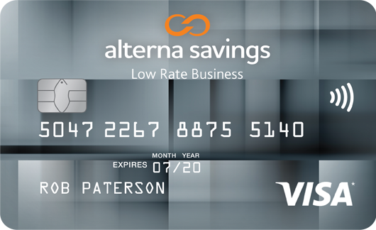 Alterna savings and credit union ltd credit cards business card reheart Gallery