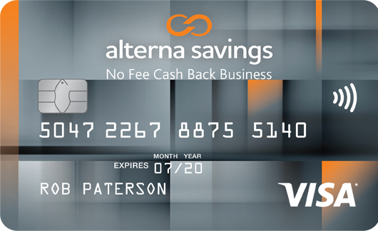 Alterna savings and credit union ltd alterna savings collabria alterna savings collabria visa no fee cash back business card reheart Images