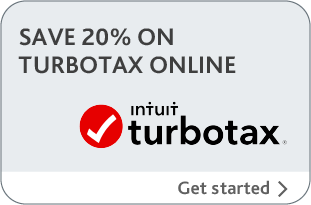 Save 20% on TurboTax online, Get Started